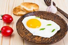 Fried Egg Omelette Lizenzfreie Stockfotografie