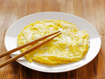 Fried egg omelettes Royalty Free Stock Photography