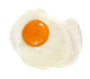 Fried Egg (With Path) Stock Images