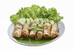 Fried Egg Rolls de la cocina vietnamita Imágenes de archivo libres de regalías