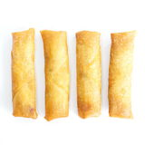 Fried Egg Rolls Stock Photography