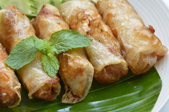 Fried Egg Rolls of Vietnamese cuisine Royalty Free Stock Photography