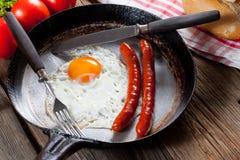 Fried egg. Royalty Free Stock Photos