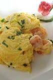 Fried Egg Shrimp Royalty Free Stock Photos