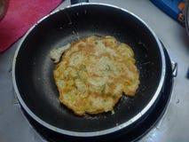 Fried Egg, Thaise Omelet Stock Afbeeldingen