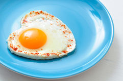 Fried egg and toast Stock Photography