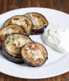 Fried eggplant Royalty Free Stock Photo