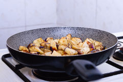 Fried eggplant Royalty Free Stock Images