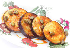 Fried Eggplants Royalty Free Stock Photo