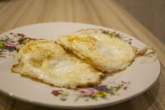 Fried Eggs Fotos de archivo libres de regalías