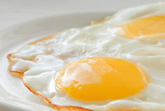 Fried eggs. Stock Photography