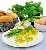 Fried eggs Stock Photo