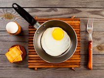 Fried eggs Stock Photo