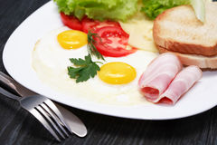Fried Eggs Images stock