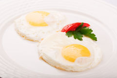 Fried Eggs Photo libre de droits