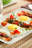 Fried Eggs Lizenzfreies Stockbild