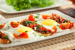 Fried Eggs Stockfotos