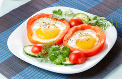 Fried Eggs Imagem de Stock
