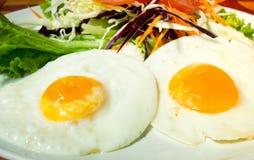Fried Eggs Photo libre de droits