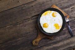 Fried Eggs Lizenzfreies Stockbild