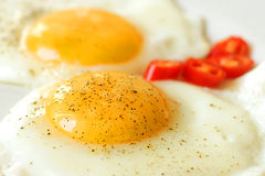 Fried Eggs Photos libres de droits