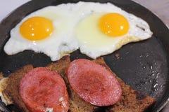 Fried Eggs imagens de stock