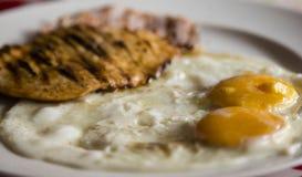 Fried Eggs Royalty-vrije Stock Foto's