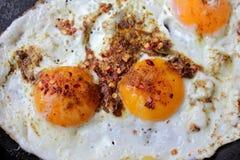 Fried Eggs Photos libres de droits