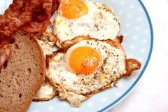Fried Eggs Lizenzfreies Stockfoto