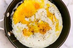 Fried Eggs Imagenes de archivo