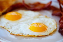 Fried eggs breakfast Royalty Free Stock Photography