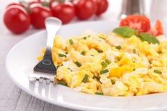 Fried eggs Stock Photos