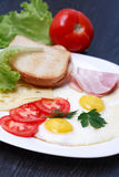 Fried Eggs Royalty Free Stock Image