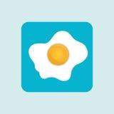 fried eggs design royalty free illustration