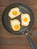 Fried eggs Stock Photos
