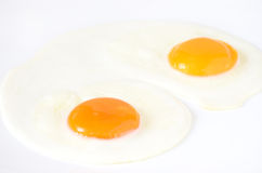 Fried eggs Stock Image