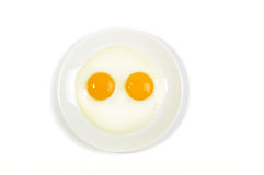 Fried eggs. Royalty Free Stock Photos