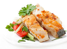 Fried filet fish Royalty Free Stock Photo