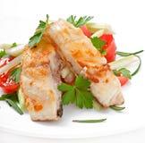 Fried filet fish Stock Photos