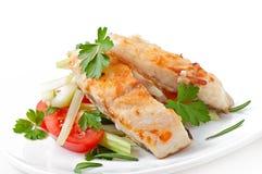Fried filet fish Stock Image