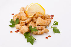 Fried fillet Stock Photography