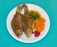 Fried fish Royalty Free Stock Image