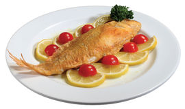 Fried Fish Royalty Free Stock Photography