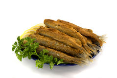 Fried fish Stock Photo