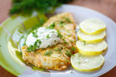 Free Fried Fish Stock Photography - 34957582