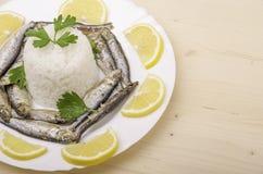 Fried Fish fotografia stock