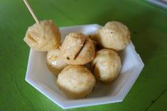 Fried fish ball. Thai food Stock Photography