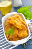 Fried fish in a batter Royalty Free Stock Photo