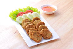Fried Fish Cakes Royalty Free Stock Image