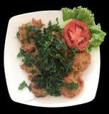 Fried Fish Cakes Thai Food Fotografía de archivo libre de regalías